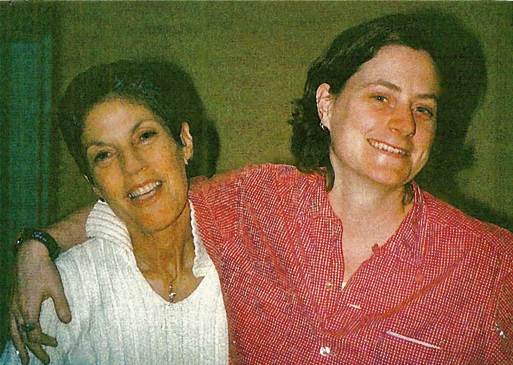 Judy and the late Sarah Pettit (two Editors in Chief with much affection and admiration between them).