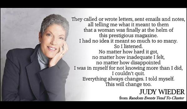 Judy Wieder quote