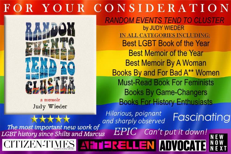 Congratulations, Judy Wieder