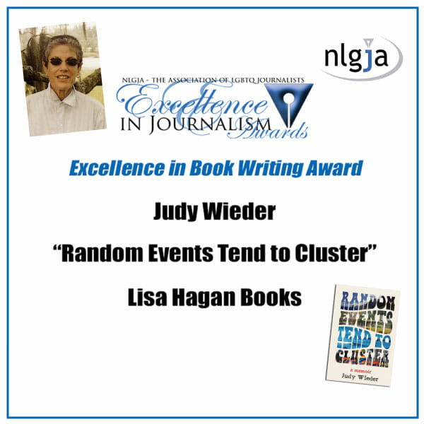 Judy Wieder Wins Excellence Award