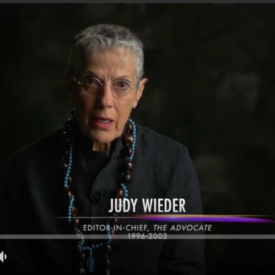 "Trailblazer Honors: Judy Wieder Talks About Her Proudest Moment At ""The Advocate"""