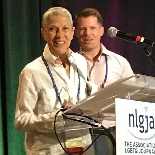 Judy Wieder NLGJA Award